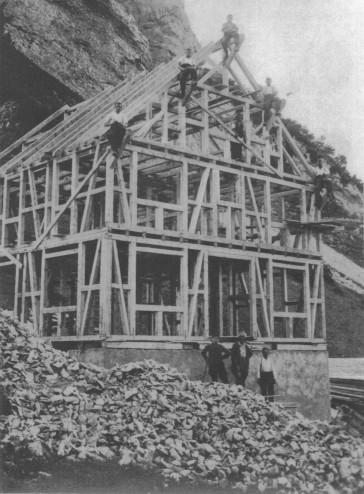 Bau Stauberen 20er Jahre