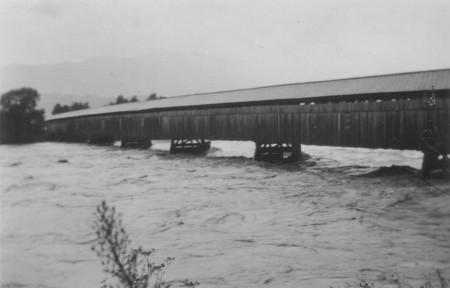 Rheinüberschwemmung 1954