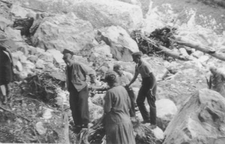 Samariterübung Breitläui 1942