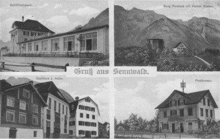 Postkarte Sennwald