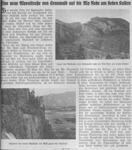 Appenzeller Kalender 1947