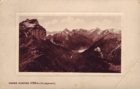 Hoher Kasten 1909