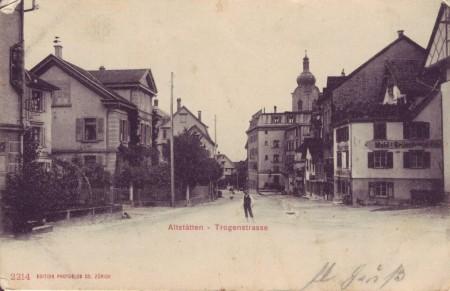 Altstätten Postkarte 20.8.1902