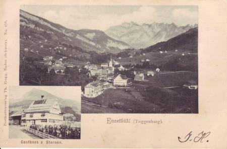 Ennetbühl 1900