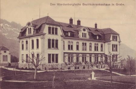 Spital Grabs Postkarte 17.5.1916