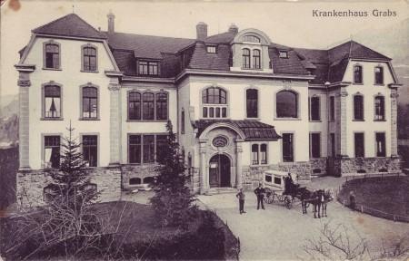 Spital Grabs Postkarte undatiert