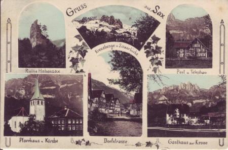 Sax abgeschickt 1903