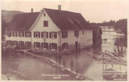 Bangs Rheinüberschwemmung 1927