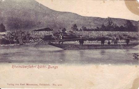 Rheinfähre Rüti Bangs