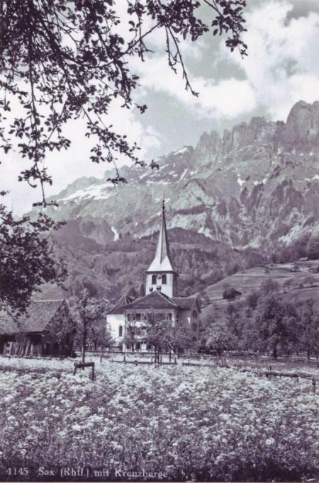 Sax Kirche undatiert