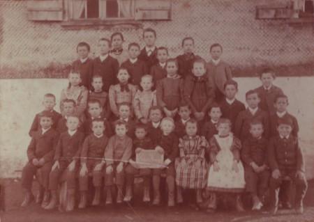 Haag Schule ca 1895