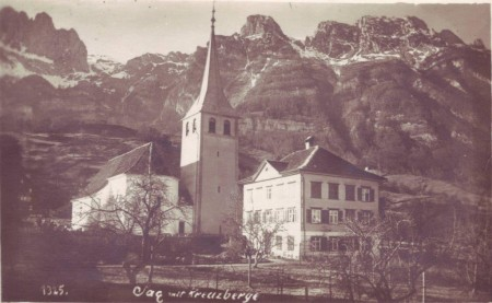 Sax Postkarte 1926