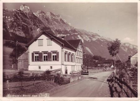 Sax Gasthaus Rössli undatiert