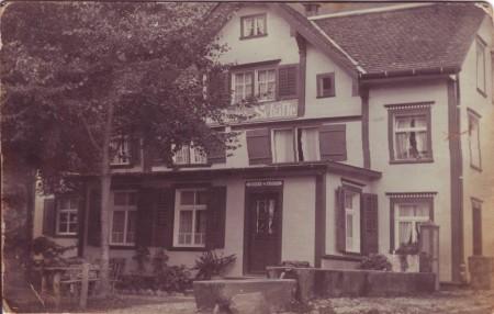 Sennwald Gasthaus Schäfli undatiert