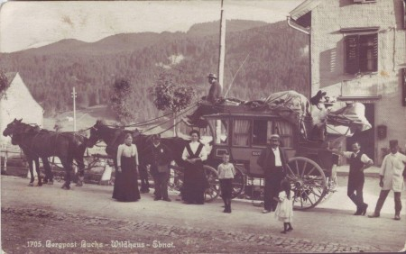 Wildhaus: Bergpost Buchs - Wildhaus - Ebnat