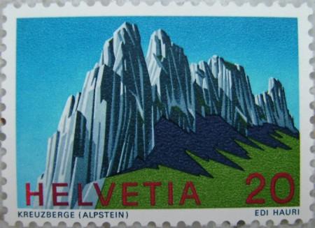 Briefmarke 1969 von Edi Hauri