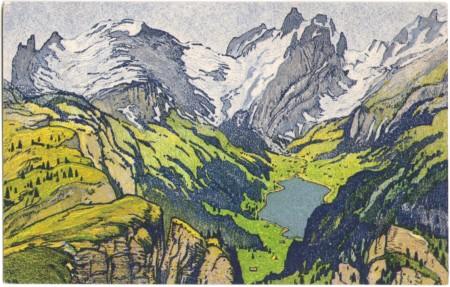 Altmann und Sämtisersee um 1910