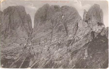 Der vierte, fünfte und sechste Kreuzberg um das Jahr 1900. Fotograf: Gebrüder Metz (Heinrich Metz, Gustav Metz), Nr. 16215