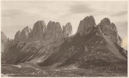 Die acht Kreuzberge um das Jahr 1920. Fotograf: Jean Gaberell (1887-1949), Nr. 1890
