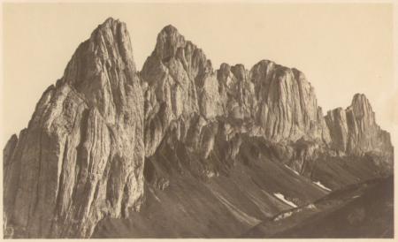 Die Kreuzberge von der Saxer Lücke um das Jahr 1920. Fotograf: Jean Gaberell (1887-1949), Nr. 5149
