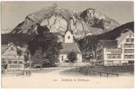 Ungelaufene Postkarte, Aufnahme und Verlag der Gebrüder Wehrli, Kilchberg-Zürich, Nr. 12552, um das Jahr 1900 entstanden.