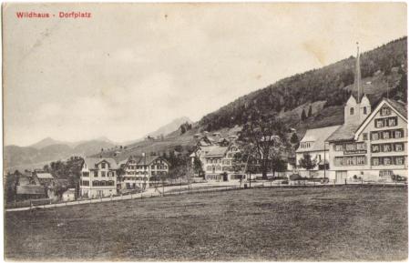 Poststempel vom 25. Juli 1912, ohne Angabe des Photographen, Verlag Institut Orell Füssli, Zürich, um das Jahr 1910 entstanden