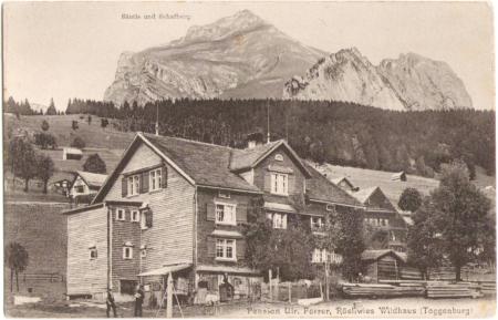 Ungelaufene Postkarte, ohne Angabe des Photographen und des Verlags, um das Jahr 1910 entstanden