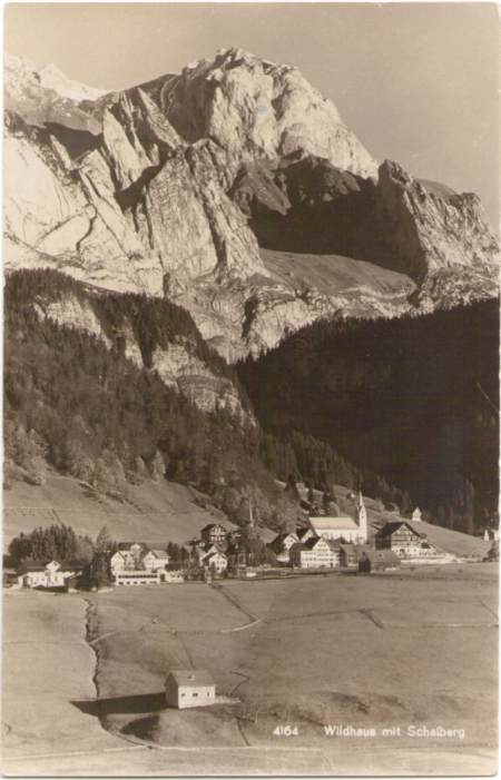 Poststempel vom 14. August 1931, Aufnahme und Verlag von Max Burkhardt, Arbon, Nr. 4164, um das Jahr 1930 entstanden