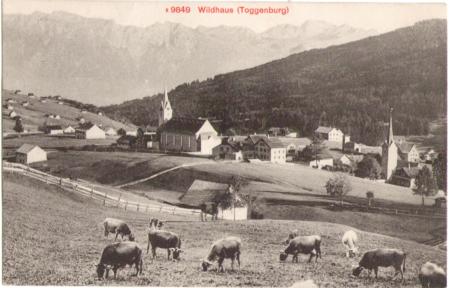 Wildhaus um 1910
