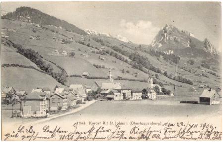 Poststempel vom 23. Juli 1906, Aufnahme und Verlag der Gebrüder Wehrli, Kilchberg-Zürich, Nr. 12544, um das Jahr 1900 entstanden