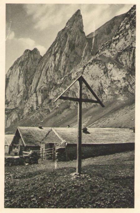 Ungelaufene Postkarte, ohne Angabe des Fotografen, Graphische Anstalt Imago, Zürich, um das Jahr 1920 entstanden