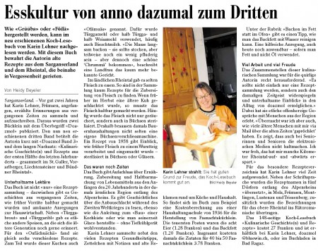 Doazmol im Sarganserländer am 17.12.2012