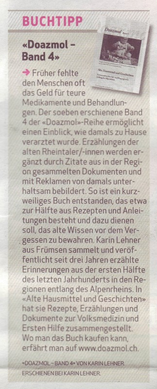 Doazmol in der Liewo am 15.12.2013