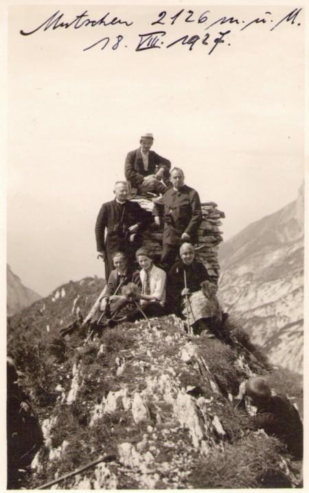 Mutschen-Gipfel 1927