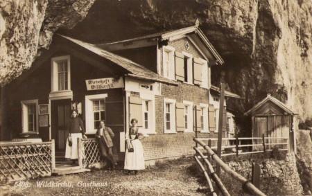 a Wildkirchli um 1925new
