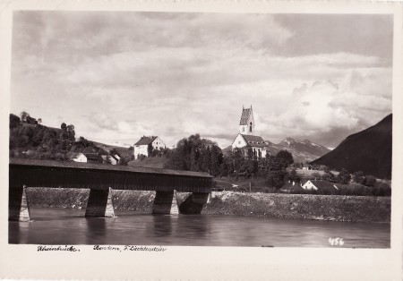 Bendern Foto Photo-Verlag S. Eberle, Triesenberg, Nr. 952 _RU