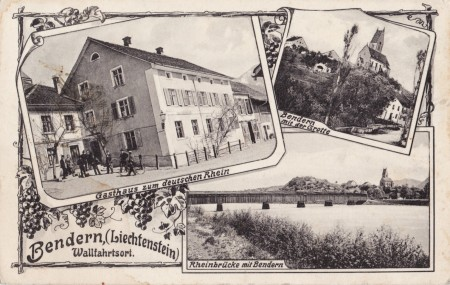Bendern Foto Verlag F. Gerster, Vaduz. C. T. B. No 992 _RU