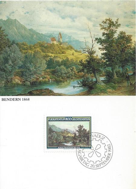 Bendern Maximumkarte Nr. 34 _RU