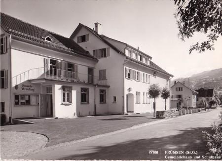 Frümsen Foto Gross, St. Gallen, 27766, 1954 _RU