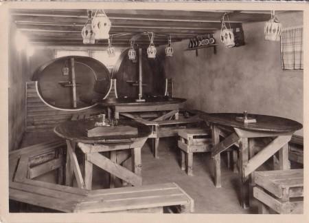 Haag Foto Buchmann, Buchs, Nr. 1352, Kellerrestaurant Gasthaus Kreuz _RU