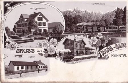 Haag Verlag Jos. Schöb, Rest. Bahnhof, 6709, Buchdr. Leop. D. Guggenheim, Zürich _RU