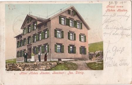 Hoher Kasten Foto Gebr. Metz, Basel, Nr. 14979 _RU