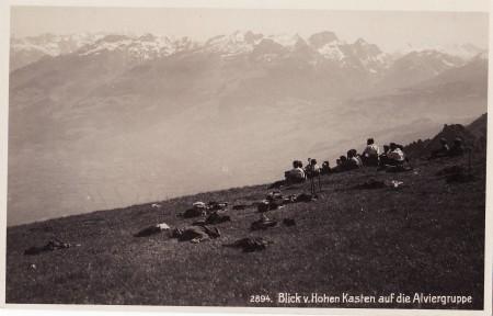 Hoher Kasten Foto Phot. Hans Gross, St. Fiden, Nr. 2894 _RU