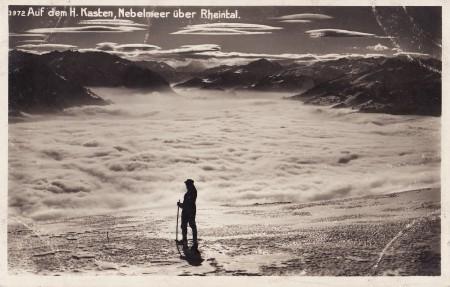 Hoher Kasten Foto Phot. Hans Gross, St. Fiden, Nr. 3972 _RU