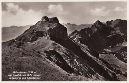 Hoher Kasten Foto Photoglob-Wehrli&Vouga&Co. AG, L 2100 _RU