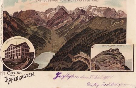 Hoher Kasten Foto Postkarten-Verlag Künzli, Zürich, Dep No 1741 _RU