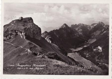 Hoher Kasten Foto-Verlag Josef Fischer, St. Gallen-Ost, 3433 _RU
