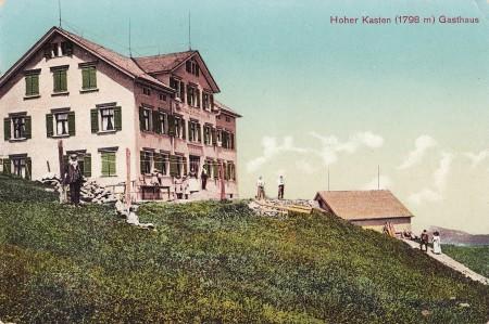 Hoher Kasten Foto Walter Marty & Co., Herisau, Nr. 2189 _RU