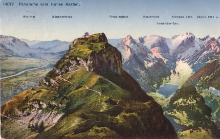 Hoher Kasten Foto Wehrli A.-G., Kilchberg-Zürich, Nr. 14017 _RU