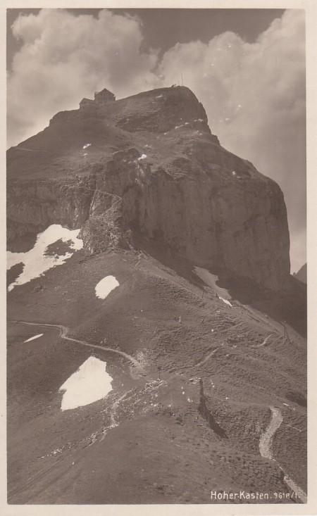 Hoher Kasten Foto Zumbühl&Gross, SG, Br. 3618f _RU